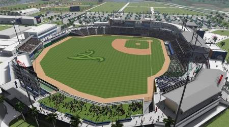 Atlanta Braves Spring Training Facility and Clubhouse